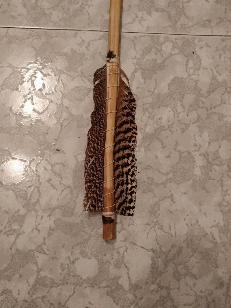 Propulsor de hueso y madera de tejo. Azagaya de aligustre y asta de ciervo  18261110