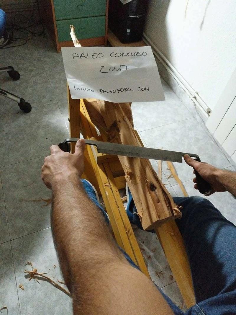 Propulsor de hueso y madera de tejo. Azagaya de aligustre y asta de ciervo  18289710