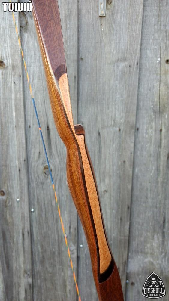 """Vendo Longbow Tuiuiú IFAA 25# 64"""" Especial RH Tuiuiu33"""