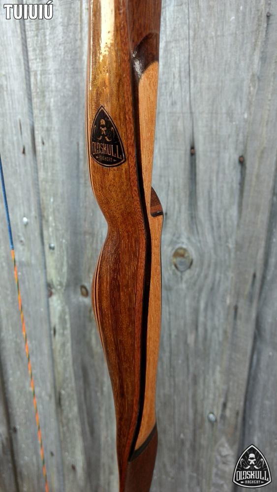 """Vendo Longbow Tuiuiú IFAA 25# 64"""" Especial RH Tuiuiu35"""