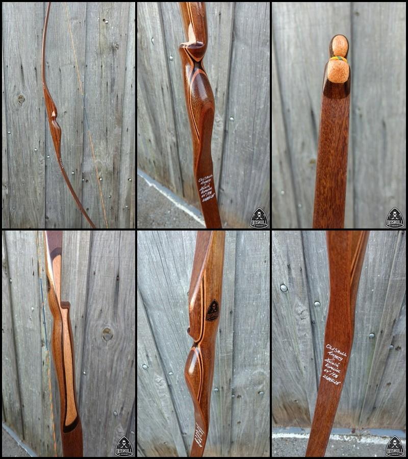 """Vendo Longbow Tuiuiú IFAA 25# 64"""" Especial RH Tuiuiu38"""