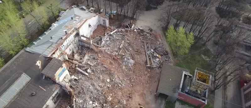 """Снос старых строений на территории бывшего """"Водоприбора"""" начнется с дальних площадок - Страница 4 610"""