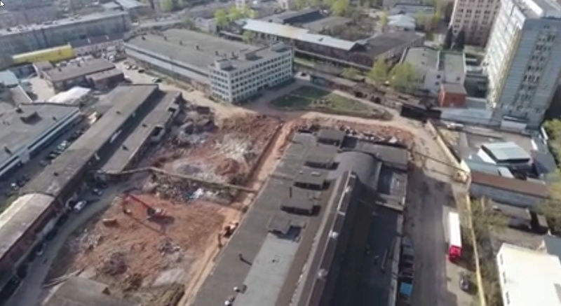 """Снос старых строений на территории бывшего """"Водоприбора"""" начнется с дальних площадок - Страница 4 910"""
