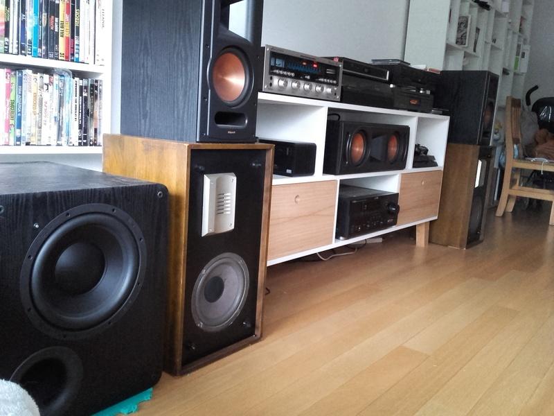 Set estéreo y HT enquilombados Equipo15