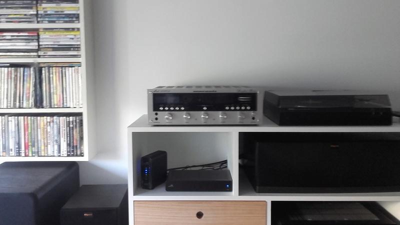 Set estéreo y HT enquilombados Marant15
