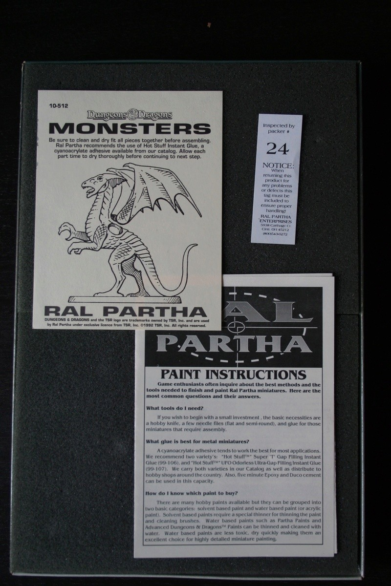 Ral Partha Dungeons and Dragongs D&D Monsters boxed Set Img_8815