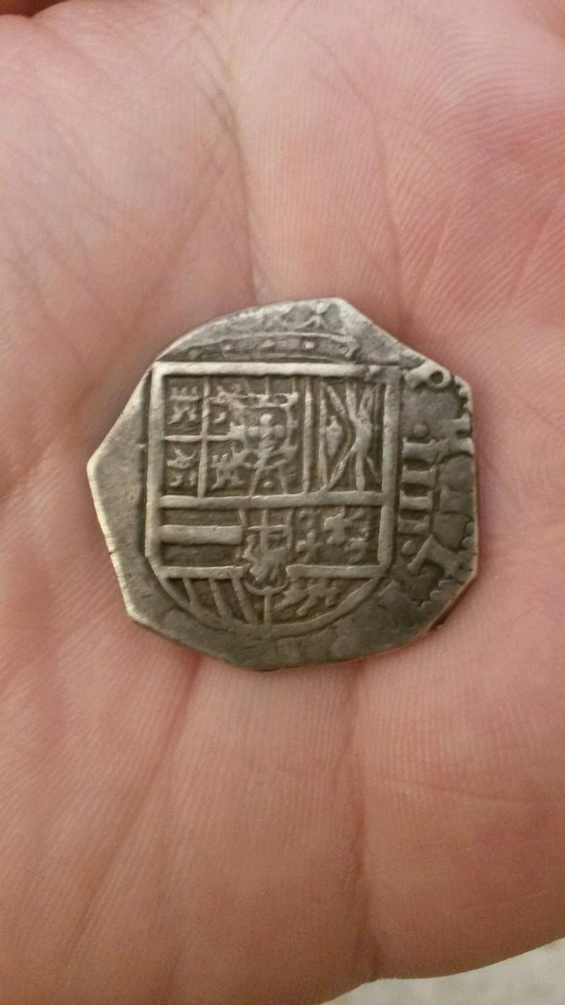 4 reales Felipe III a martillo, ceca de Toledo 1619 20170510