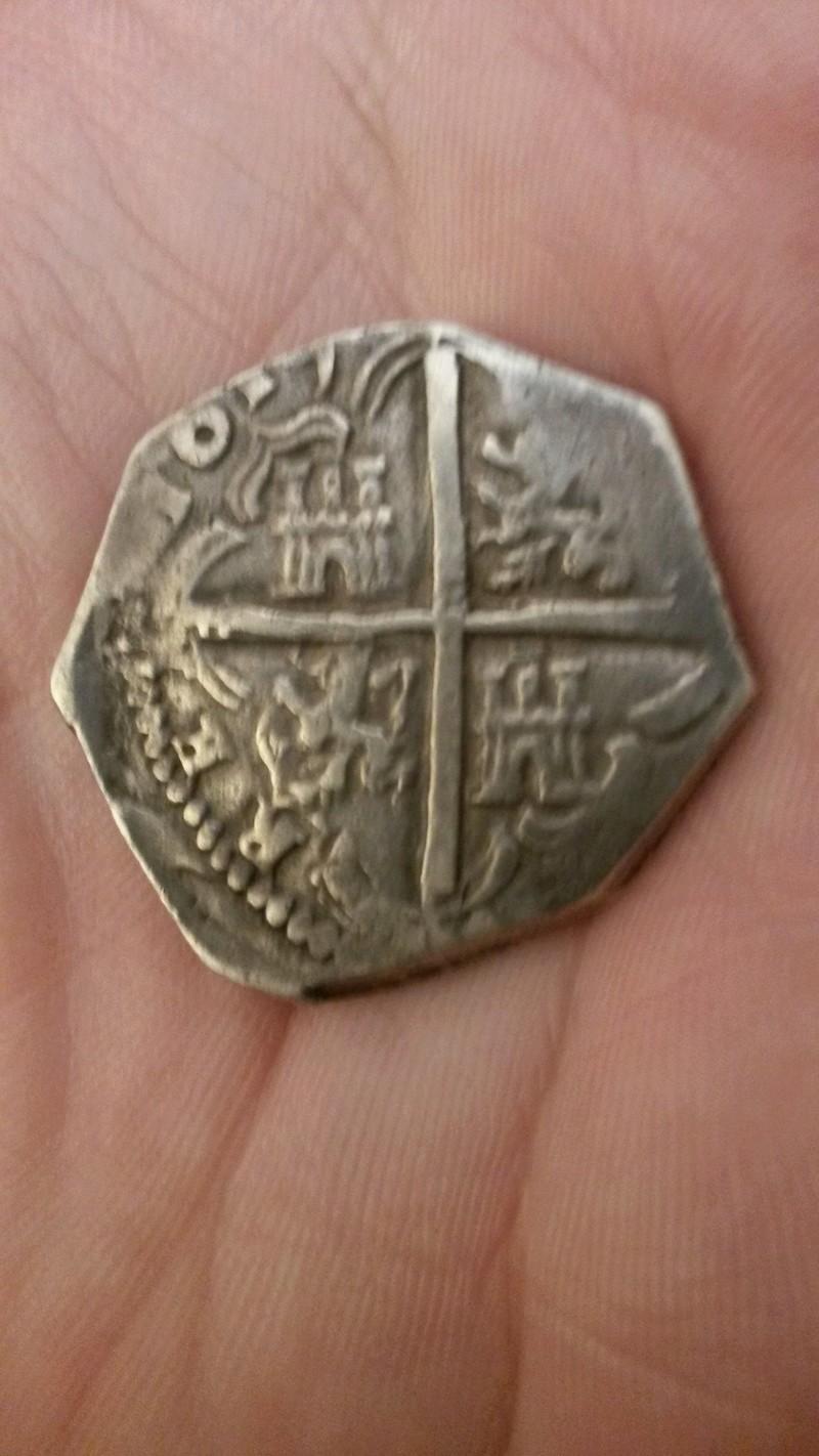 4 reales Felipe III a martillo, ceca de Toledo 1619 20170511