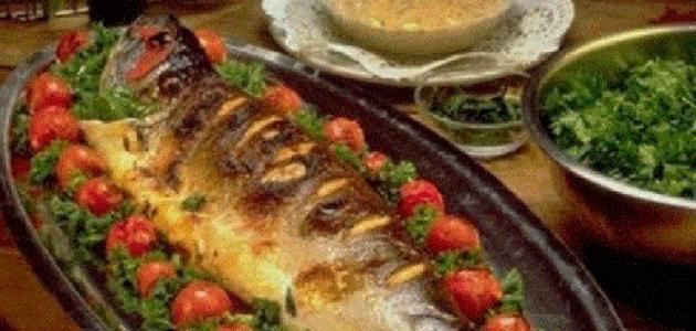 سمك الهامور بالفرن لذيذة 2614