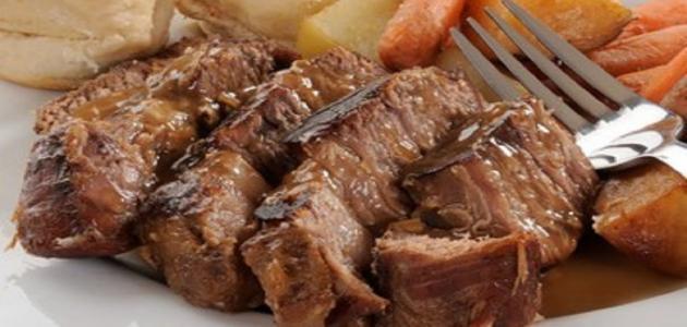 اكلة لحم التربيانكو الشهية 726