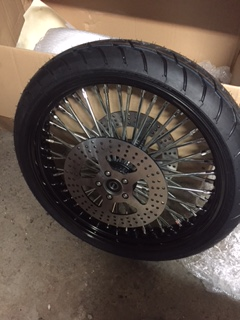 roue de 21 '' sur road king Image17