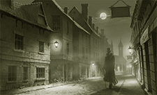 Steampunk Victorian London by Night - Storytelling