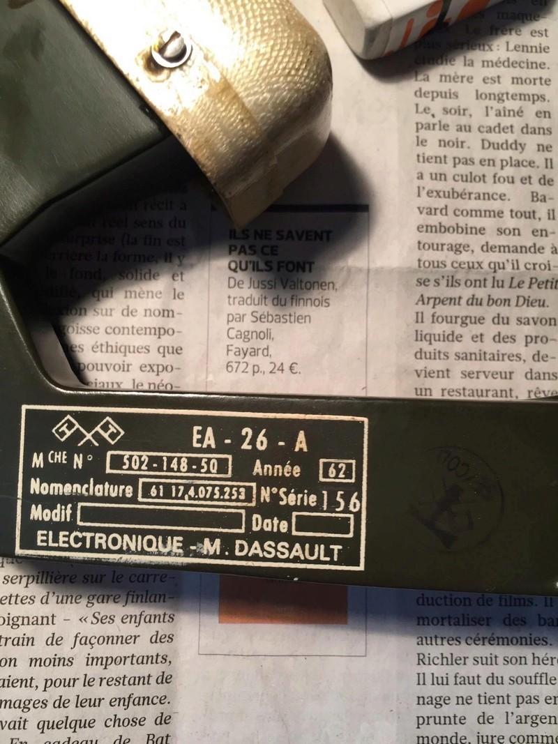 identification matériel transmission ?  410