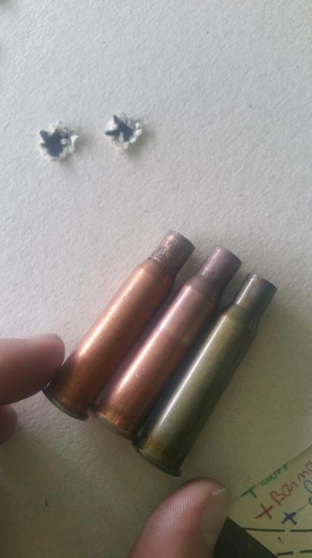 comparatif munitions de surplus chinoises / russes / manufacturées 20170613