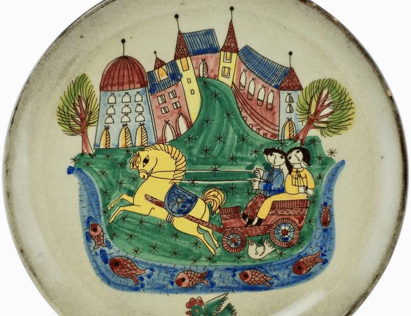 Wiinblad-like pottery -  STUCKI Jakob, Langnau Suisse Hb1h2t11