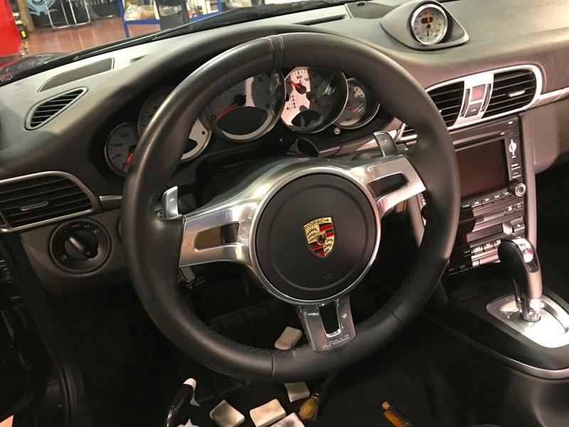 Detailing su Porsche 911 997 Carrera 4S 08-10211