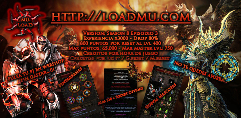 [SEASON 8] LoadMu - Fulea Tu Pj En WebShop Sin Gastar...!!!! Spam10