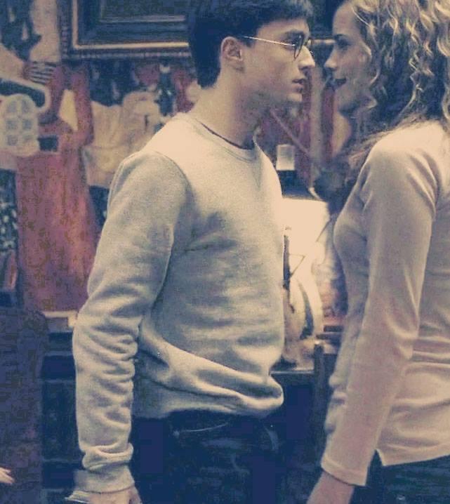 [FOTOS] Harry & Hermione. ◄Hogwarts► 10012510