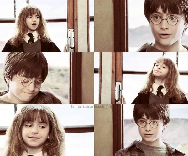 [FOTOS] Harry & Hermione. ◄Hogwarts► 10701910