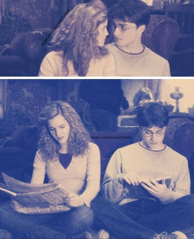 [FOTOS] Harry & Hermione. ◄Hogwarts► 12196310