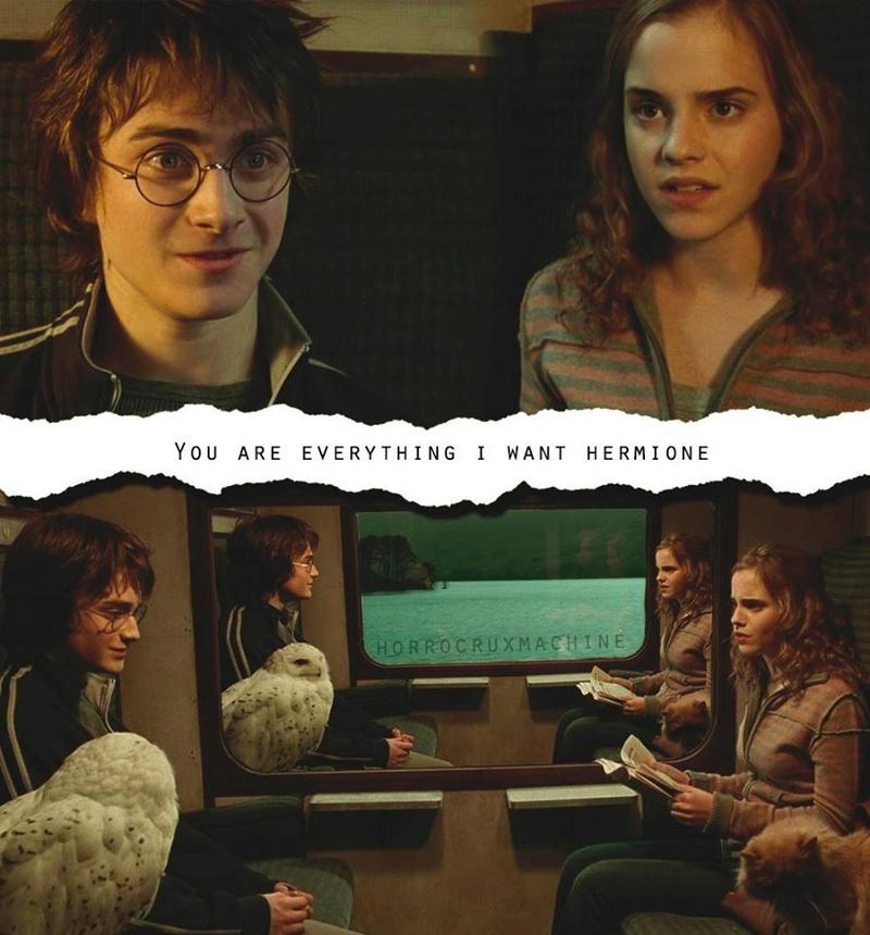 [FOTOS] Harry & Hermione. ◄Hogwarts► 12967410