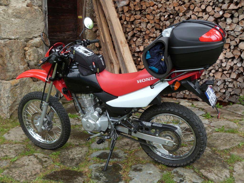 Ariège-Norvège en XR125L départ 13/6/17, 1er essai & échec  P1040710