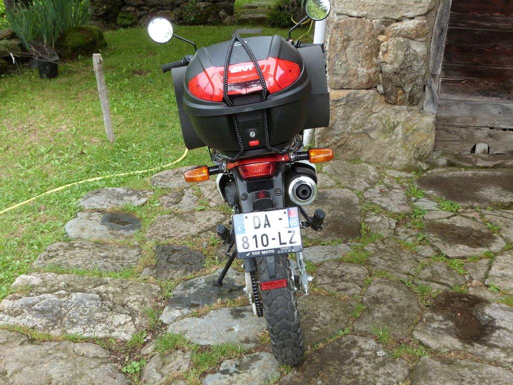 Ariège-Norvège en XR125L départ 13/6/17, 1er essai & échec  P1040713