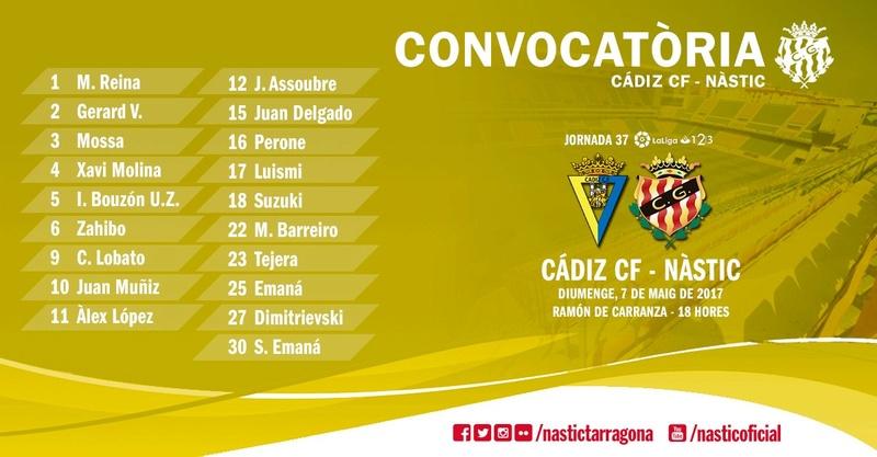[J37] Cádiz C.F. - Gimnástic de Tarragona - 7/05/2017 18:00 h. Img_2010