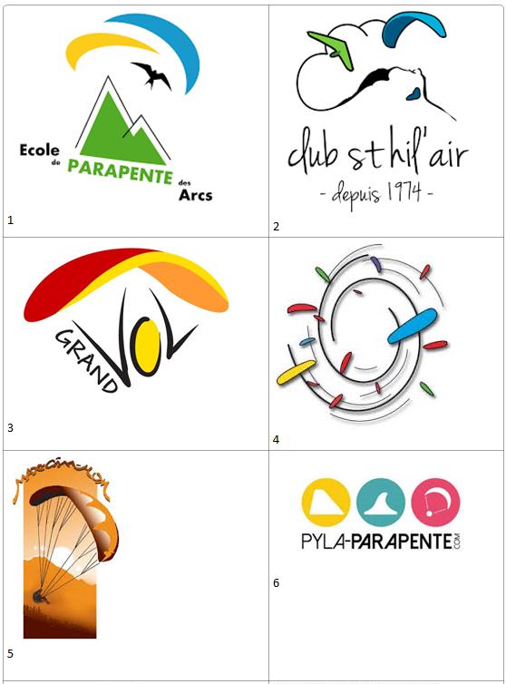 Le logo du club des Piafs Logo115