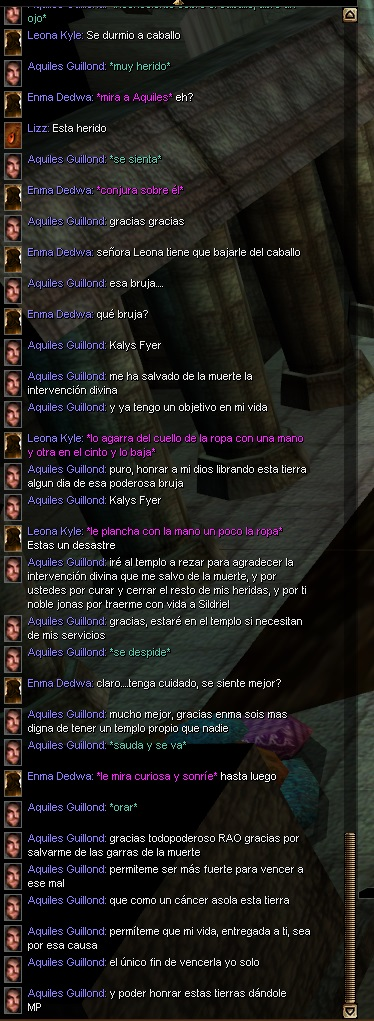 Aquiles Guillond (EL CAZABRUJAS) Oracio10