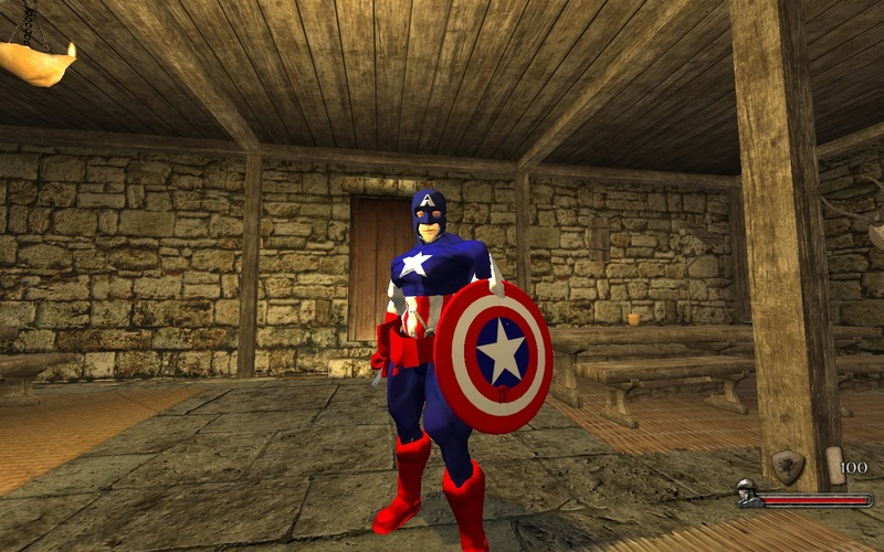 [SP][EN/ES] Capitán América (minimod) Mb215