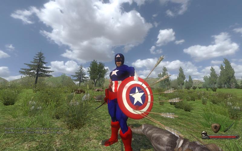 [SP][EN/ES] Capitán América (minimod) Mb316