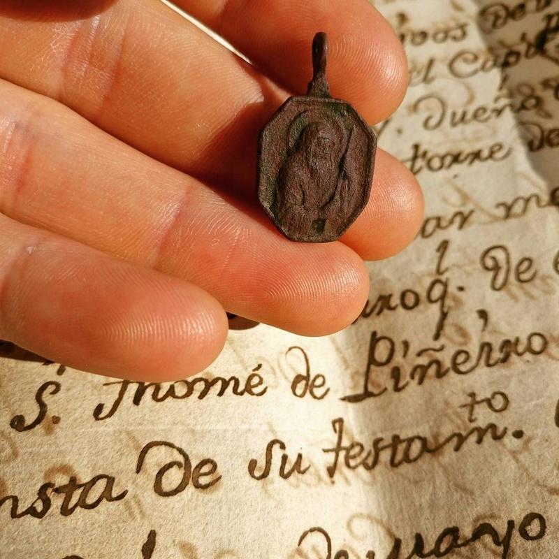 Medalla de San José / San Francisco de Paula -s. XVII- Img_2013
