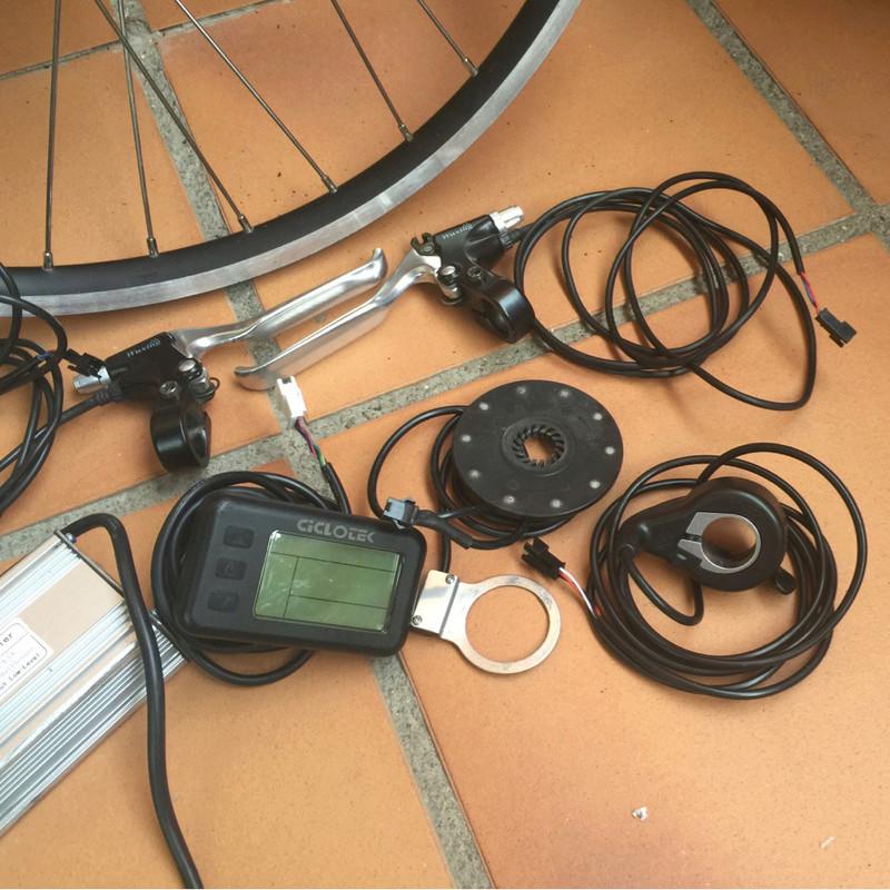 "Vendido Kit BPM Trasero 26"" 36v. 500W sin batería Img_2613"