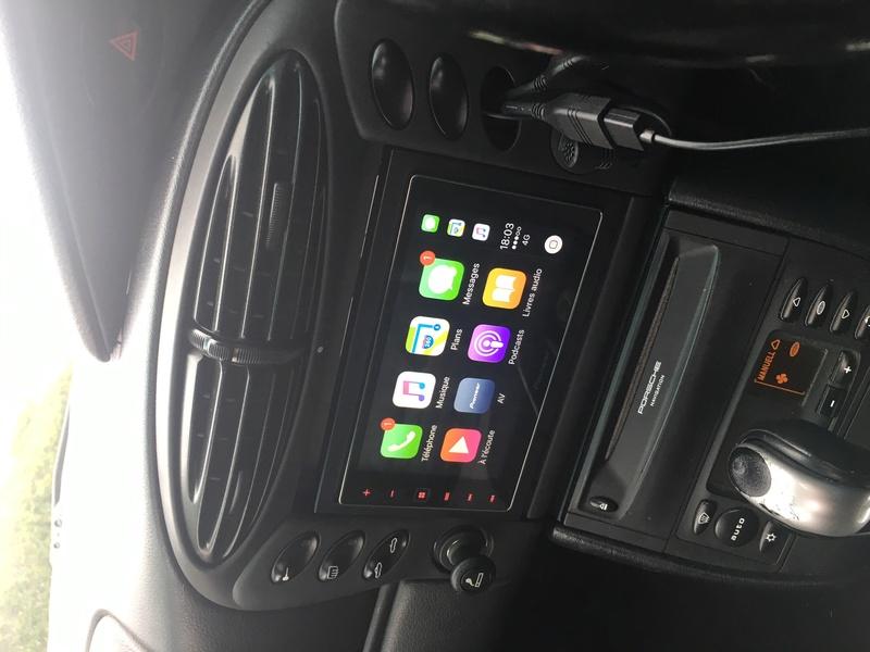 Test CarPlay / Pioneer SPH-DA120 sur mon Boxster 986 Année 2000 Img_2710