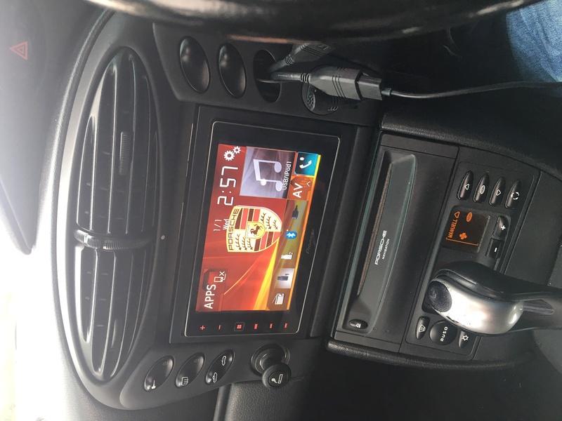 Test CarPlay / Pioneer SPH-DA120 sur mon Boxster 986 Année 2000 Img_2810