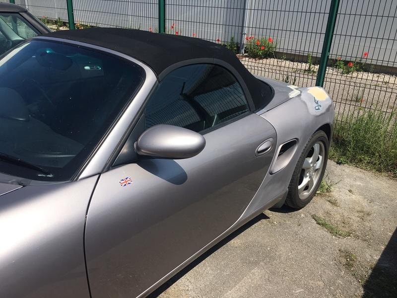 Peinture aile arrière Porsche Boxster Img_3010