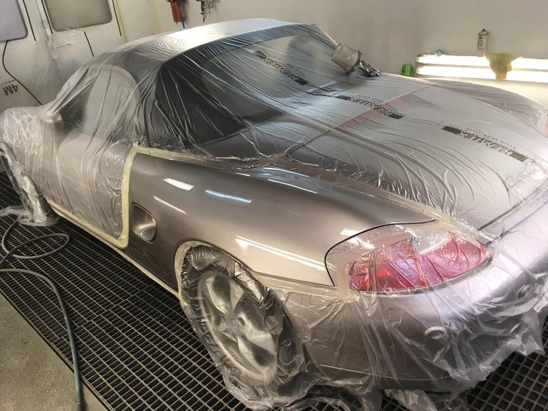 Peinture aile arrière Porsche Boxster Img_3115
