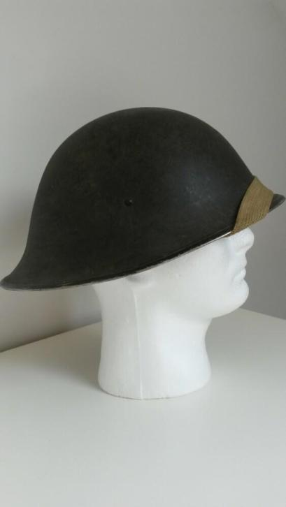British ww2 turtle helmet  _8510