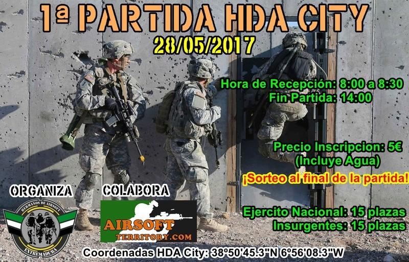 Partida HDA City 28/05/2017 Cartel12