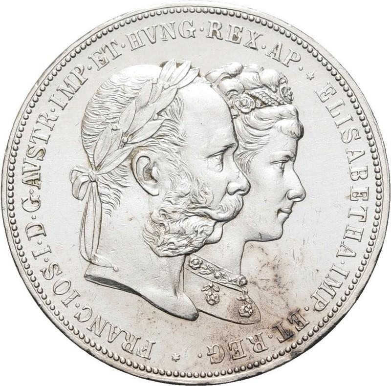 1879 - 2 Gulden de 1879 - Franz Joseph I - Silver Wedding Franz_11