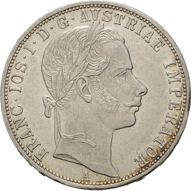 1 Florin Austria Franz Joseph 1859 Yuster11