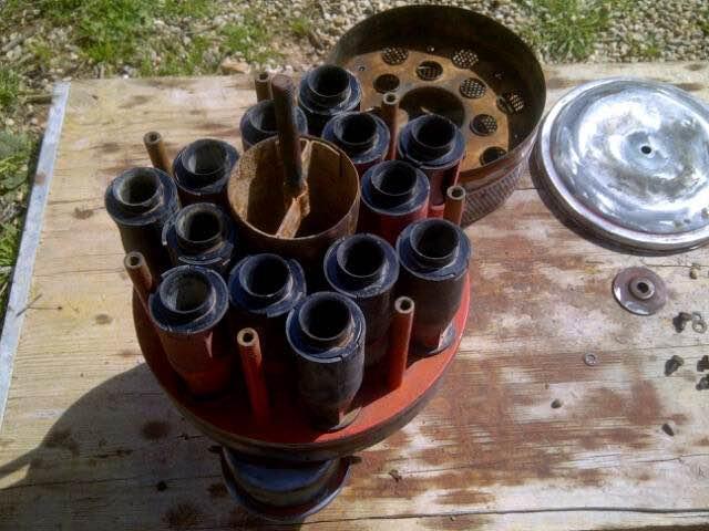[Hanomag Barreiros R545] Tutorial de limpieza parte superior filtro del aire Img_3416