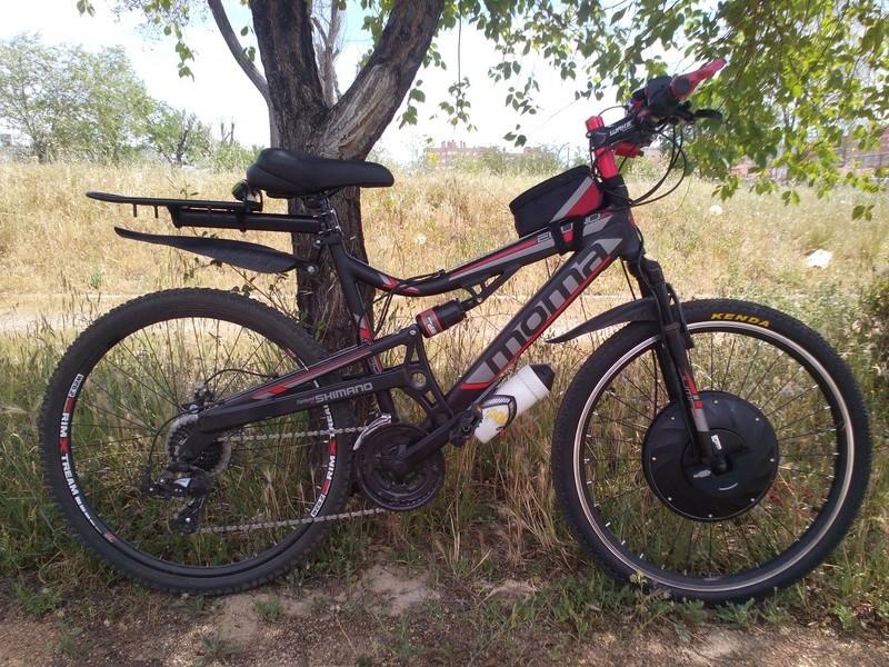 Imortor 26 o Urban X rueda inteligente. Bici111
