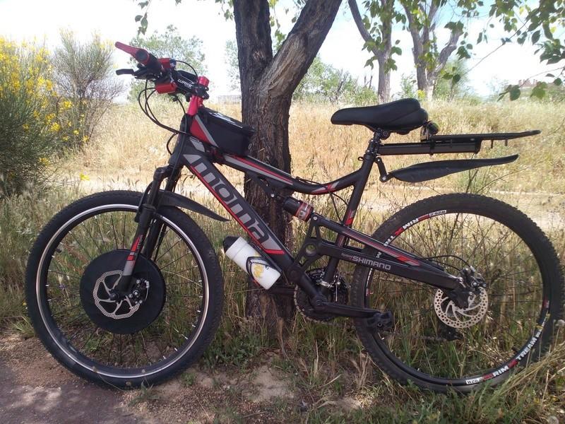 Imortor 26 o Urban X rueda inteligente. Bici211