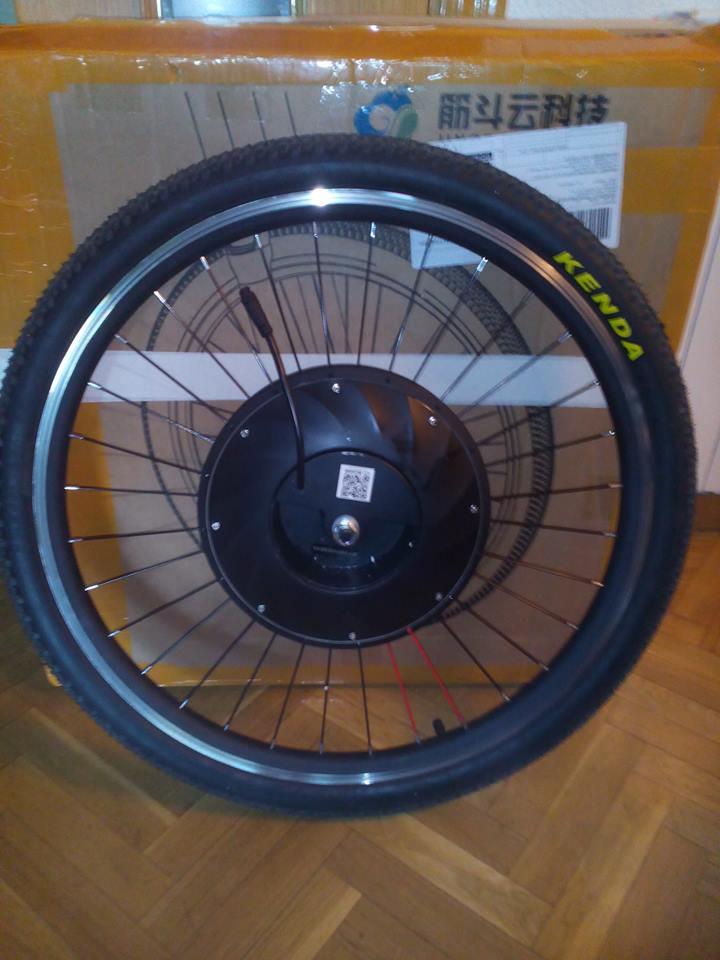 Imortor 26 o Urban X rueda inteligente. Rueda210