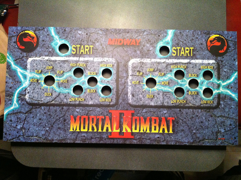 [For Sale] Mortal Kombat II Control Panel & Marquee Original Img_8815