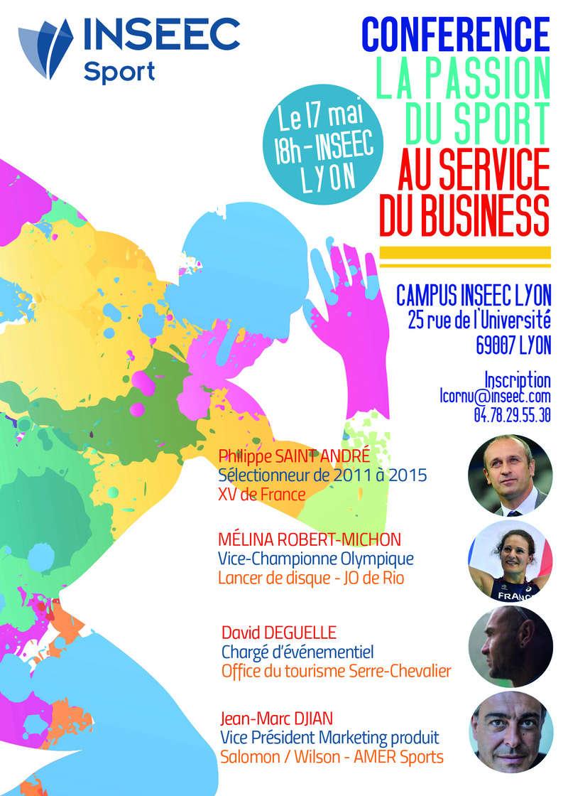 Conférence - La passion du sport au service du business -17 mai Affich10