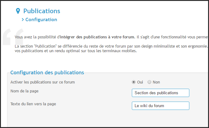 Présentation des publications 15-05-11