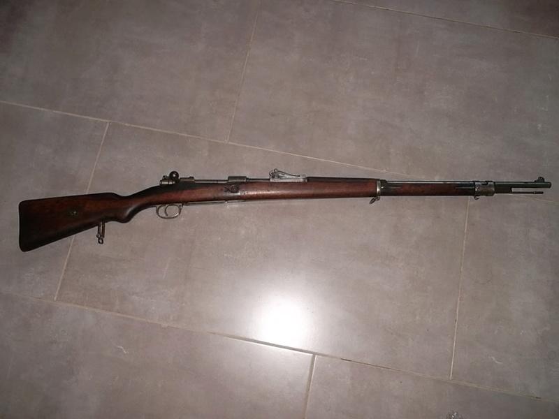 Mauser G98, petit d'1m25 dernièrement arrivé  Sam_2845